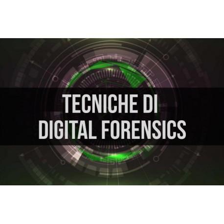 TECNICHE DI DIGITAL FORENSICS