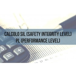 CALCOLO SIL (SAFETY INTEGRITY LEVEL) - PL (PERFORMANCE LEVEL)